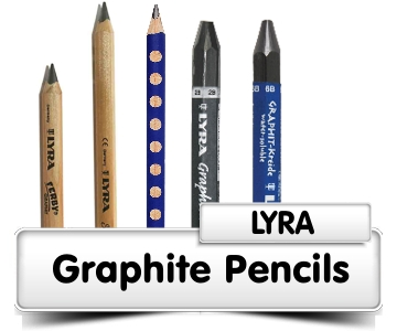 Lyra Graphite Pencils